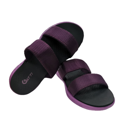 Gatti Women Strap Sandal YUJI Purple Black 201290-06