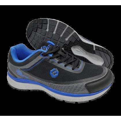 Gatti Men Running Shoe RICARDO 205101-01 Black Blue