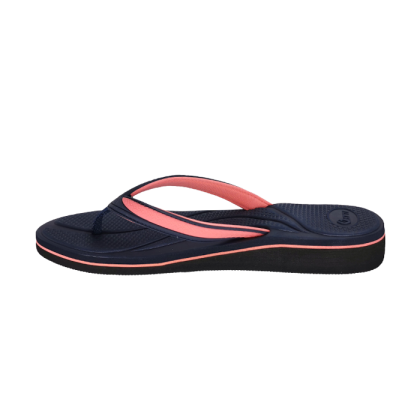Gatti Women's Slipper Flip Flop ELIZ Navy Pink 191228-32