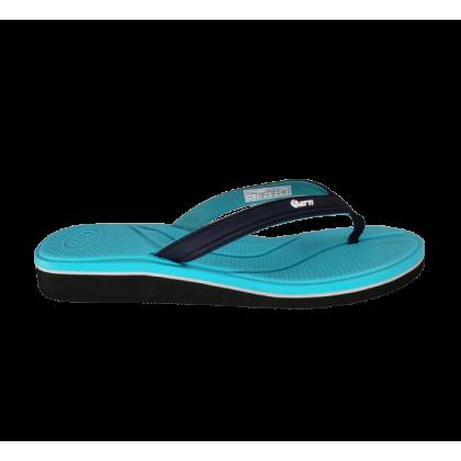 Gatti Women's Slipper Flip Flop ELIZ Turquoise Navy 191228-52