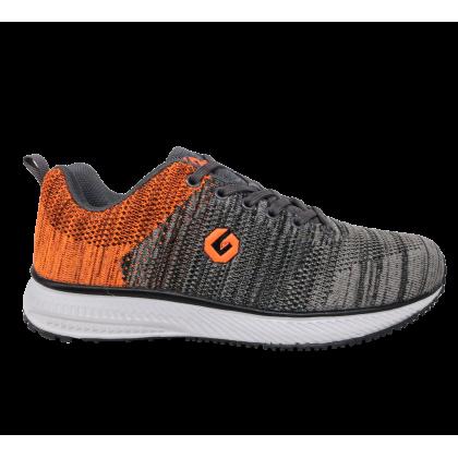 Gatti Men Running Shoe EDDY 205103-11 Grey Orange