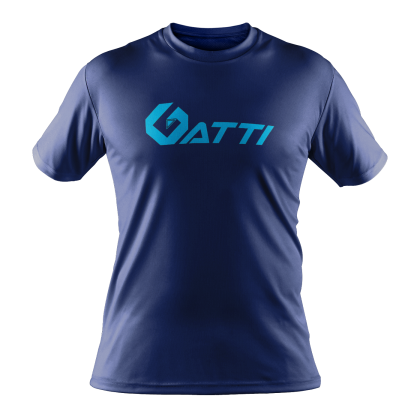 GATTI Short Sleeve Round Neck Dry Fit Microfiber Interlock Shirt Jersey Unisex RAINO 512012