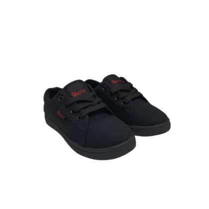 Gatti Black To School 3 In 1 Gift Pack Lace Up Black Shoe Socks Backpack A1-B1B2B3