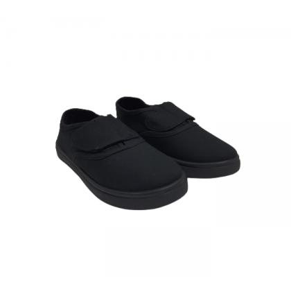 Gatti Black To School 3 In 1 Gift Pack Velcro Strap Black Shoe Socks Backpack A2-B1B2B3