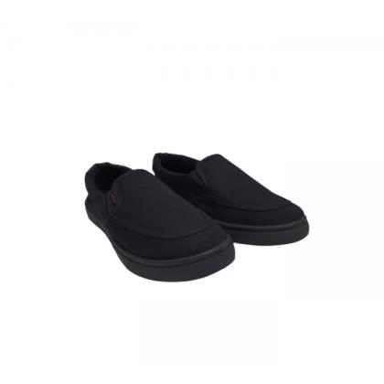 Gatti Black To School 3 In 1 Gift Pack Slip On Black Shoe Socks Backpack A3-B1B2B3