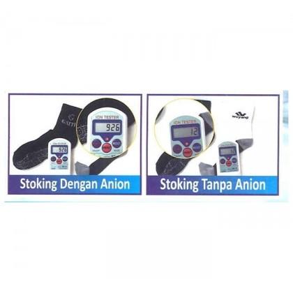 Gatti Healthy Anion Socks AS20304 White Black Orange