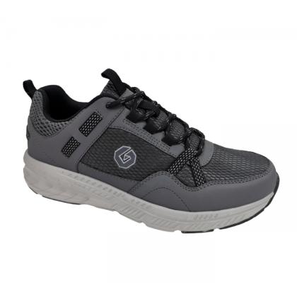 GATTI COSIM Latex Insole Men Big Size Running Shoe Grey 208106-11