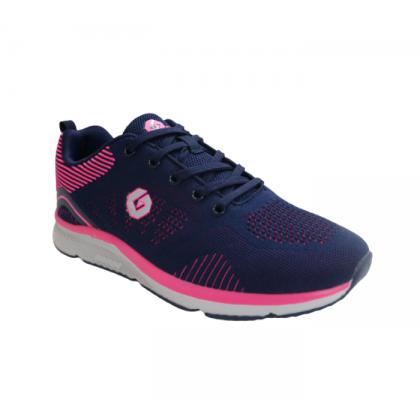 Gatti Women Running Sport Shoe SYLVAINE Navy Pink 205214-32