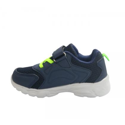 Gatti Junior Running Kid Shoe MIKERSTAN Navy Neon Green 208317-32