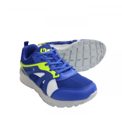 Gatti Junior Running Kid Shoe MIAEDON Blue Neon Green 205305-02