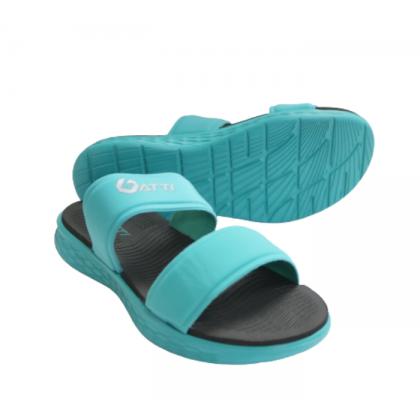 Gatti Women Latex Sim Mat Slipper YAKIRA Turquoise 201208-52