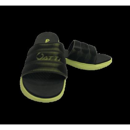 Gatti Men Latex Sim Mat Slipper YOHA Black Neon Green 201104-93