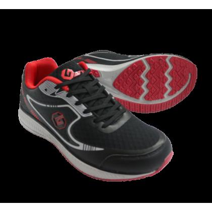 Gatti Men Running Shoe VESTIX Black Red 205107-01