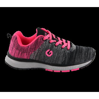 Gatti Women's Running Sport Shoe EARA Black Pink 195210-01