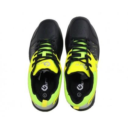 Gatti Badminton Shoe DAVIS Black Neon Green 196121-01