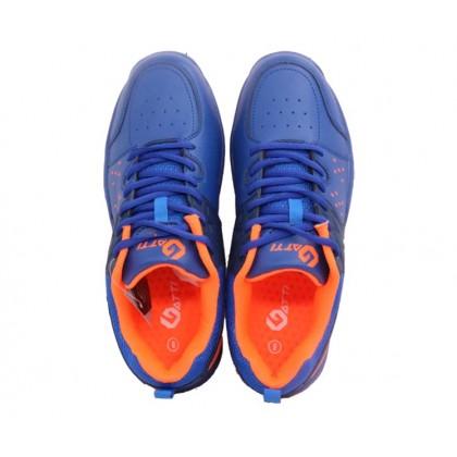 Gatti Badminton Shoe DAVIS Blue Orange 196121-02
