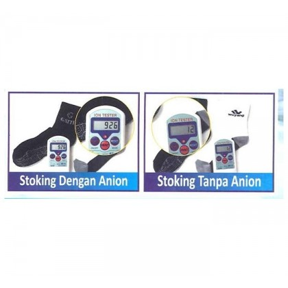 Gatti Healthy Anion + Antibacterial Socks Pro Platinum Series AST20504