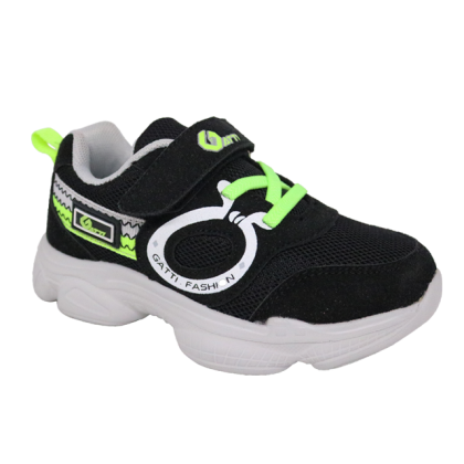Gatti Junior Kids Lifestyle Walking Shoe MIVENA Black 208316-01