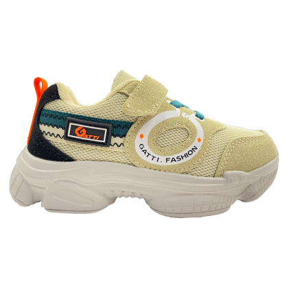 Gatti Junior Kids Lifestyle Walking Shoe MIVENA Khaki 208316-43