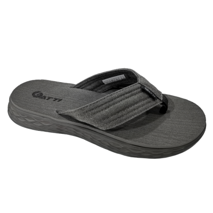 Gatti Men's Latex Sim Mat Slipper TERZO Dark Grey 201165-21