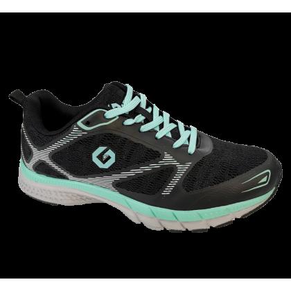 Gatti Women Running Sport Shoe AUREY Black 205213-01