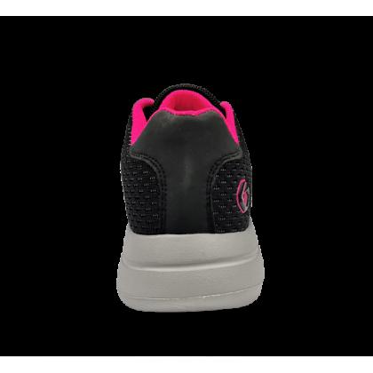 Gatti Women Running Sport Shoe Wide Width SIENA Black Pink 205208-01