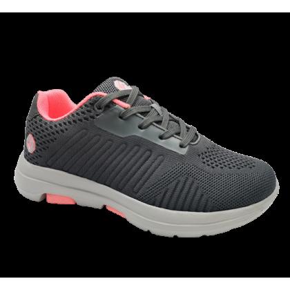 Gatti Women Running Sport Shoe Wide Width SIENA Grey 205208-11
