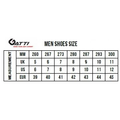 Gatti Men's Lifestyle Shoe VARDEN Black 208102-01