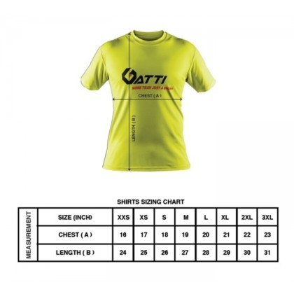 GATTI WOMEN BASIC DOUBLE LINE TEE T-SHIRT 522004